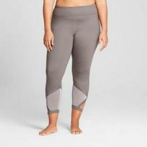 JoyLab grey leggings w/ cutout